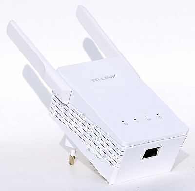 TP-LINK RE200 AC750 Dual Band WLAN Repeater 750Mbits LAN Port WPS