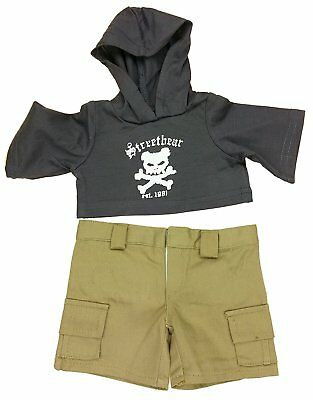 "Street Bear Teddy Clothes - Fits Most 14""-18"" Make Your Own Stuffed Animals"