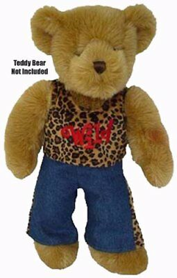 "Wild Outfit Teddy Bear Clothes - Fits Most 14""-18"" Make Your Own Stuffed Animals"