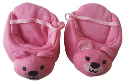 """Bear Slippers Pink for Teddy - Fits Most 14""""-18"""" Make Your Own Stuffed Animals"""