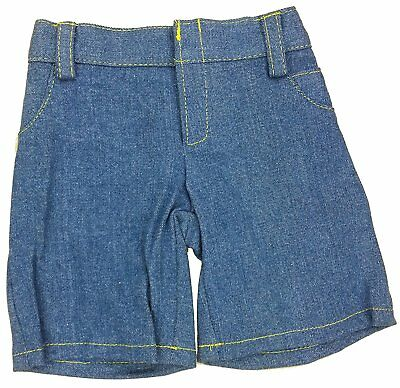 """Denim Jeans Teddy Clothes - Fits Most 14""""-18"""" Make Your Own Stuffed Animals"""