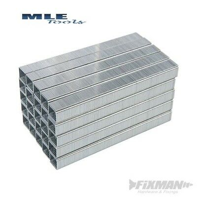 810318 Fixman 10J Galvanised Staples 5000pk 11.2 x 12 x 1.16mm