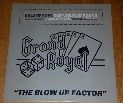 "Beastie Boys - Scientists of Sound vinyl 12"" Grand Royal Hip Hop Blow Up Factor"