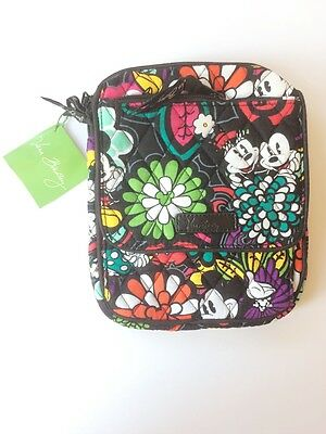 NWT Vera Bradley Disney Mini Hipster in Magical Blooms Mickey Mouse & Minnie LE