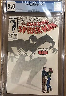 Amazing Spider-man Vol # 1 Issue # 290 CGC 9.0 Marvel Peter Proposes to MJ