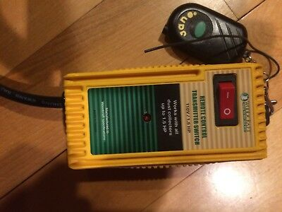dust collector remote control transmitter switch