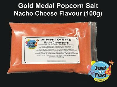 Gold Medal Nacho Cheese Popcorn Salt for Popcorn Machines (100g)