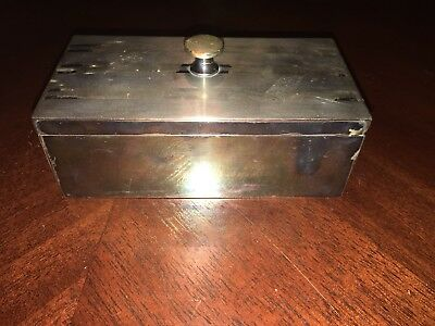 Antique Watrous Snuff Box possibly Sterling Silver