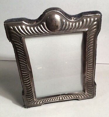 """Antique R.c. Carr Sterling Silver Picture Frame 5"""" X 4"""""""