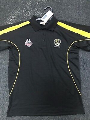 2017 AFL PREMIERSHIP POLO SHIRT (Richmond Tigers) ***ON SALE NOW!***