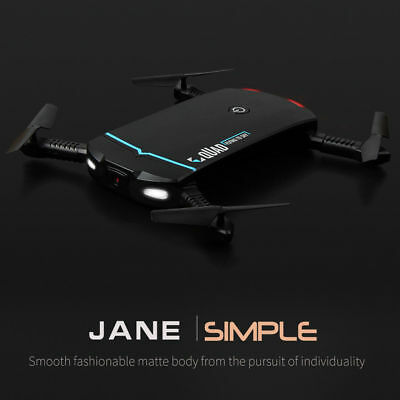 Foldable Selfie Drone Wifi FPV 720P Camera Phone App Control RC Quadcopter Gift