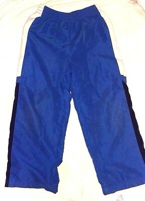 Okie Dokie Blue BOYS TODDLER MESH line ATHLETIC PANTS size 4 light summer fall