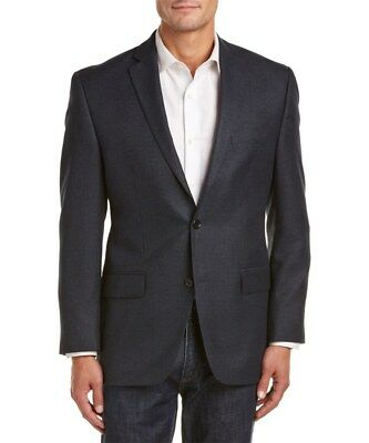 Michael Kors Men's Blue Multi Check Sport Coat Blazer - 42 Long - NWT $295