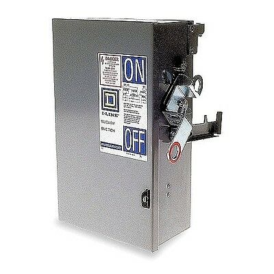 New Square D Pq3610G 100 Amp 600 Volt 3P3W Fusible Busway Switch Bus Plug* New*