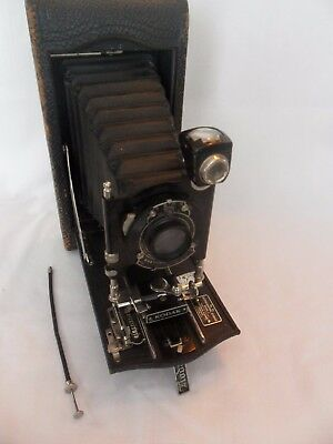 Kodak 3-A Autographic Model C Folding Bellows Large Antique Film Camera
