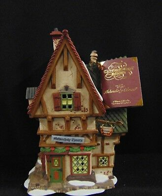1996 Dept 56 Dickens Lighted Village THE MELANCHOLY TAVERN in Box Handpainted