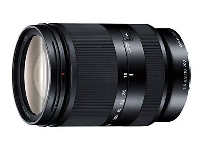 SONY high magnification zoom lens E18-200mm F 3.5-6.3 OSS LE for Sony E mount