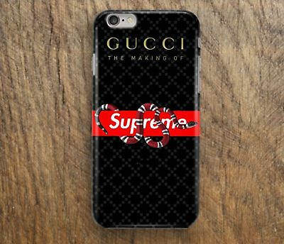Supreme Snake 131Gucci2017 For iPhone 6/6s 7/7s 8/8s X Samsung Galaxy S7 S8 Case