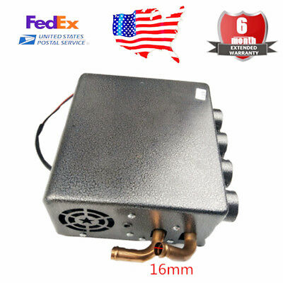 12V New Compact Type Copper Underdash Heater Heat + Speed Switch - Universal