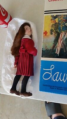 "Vintage 1984 Norman Rockwell ""Laura"" Collector's Edition Porcelain Doll In Box"