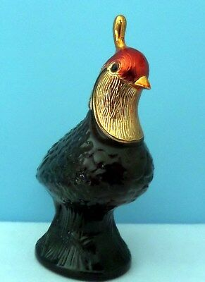 Avon Quail Decanter held Avon Blend 7, w/label, excellent, free shipping