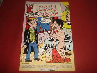 REAL STUFF #15  Dennis Eichhorn Fantagraphics Comics 1993 VF