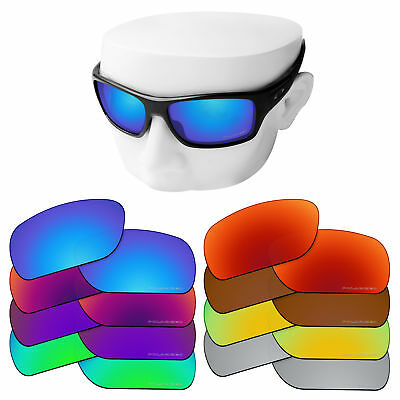 6cd9cdf2734 OOWLIT Iridium Replacement Lenses for-Oakley Turbine Sunglasses Polarized