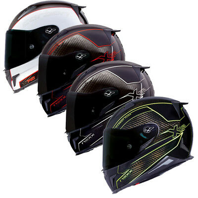 NEXX XR2 X.R2 Carbon & Pure Full Face ACU Approved Motorcycle Track Race Helmet
