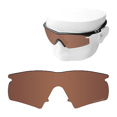 8e60f8c733 OOWLIT Replacement Sunglass Lenses for-Oakley M Frame Hybrid POLARIZED -  Brown
