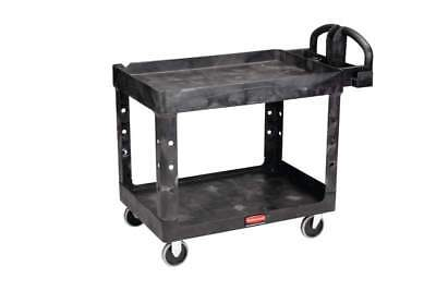 Rubbermaid Heavy Duty Cart Lipped Shelf - Mobile Workstation Medium