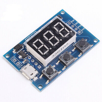 2-Channel 5V PWM Pulse / Square Wave Generator Module 1Hz-150KHz Frequency US