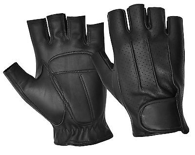 Leather Driving Gloves Retro Classic Mens Womens Lined Top Quality Comfort Soft