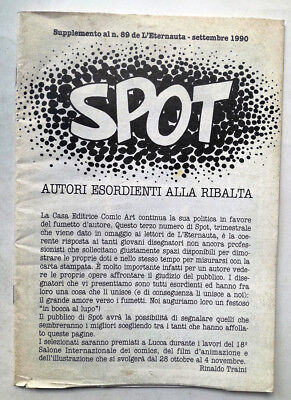 SPOT 3 Supplemento a L'eternauta 89 Comic Art LUCA ENOCH