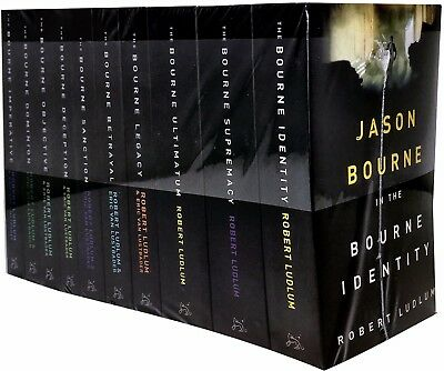 The Jason Bourne Series Robert Ludlum 10 Books Set Collection Identity Supremacy