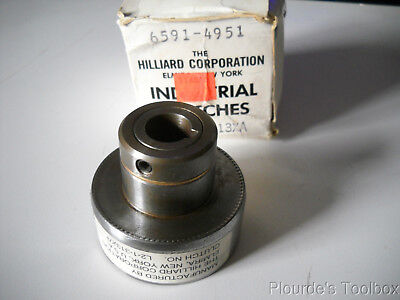 "New Hilliard 1/2"" Overload Release Clutch, L2-1-313XA, 1800rpm 0.0 to 7.3ft-lbs"