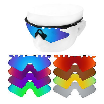 5f1ac6c7cf OOWLIT Iridium Replacement Lenses for-Oakley M Frame Heater Vented Polarized
