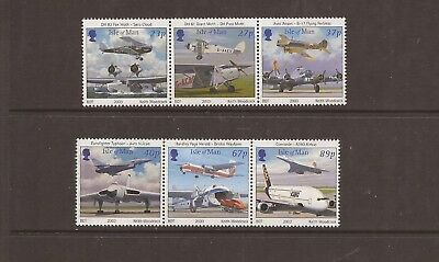 Iom 2003 Royal Air Force Mnh Set Of Stamps