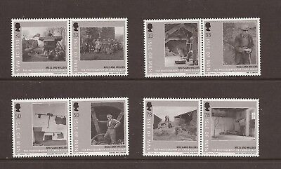 Iom 2009 Mills And Millers Photographs Mnh Set Of Stamps