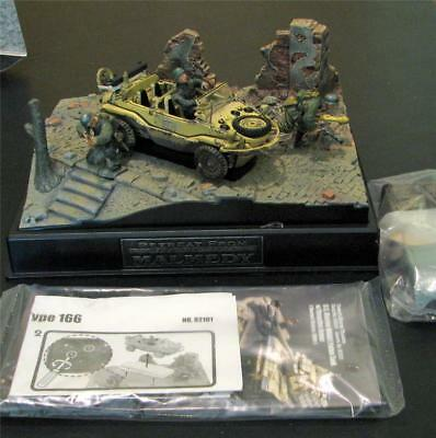 Forces of Valor 1/32 Scale German Schwimmwagen Type 166 Diorama 82101