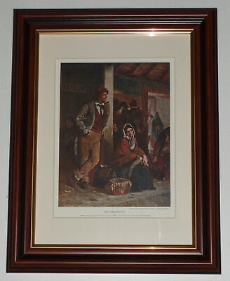 Emigrants by Erskine Nicol plate over 90 years old (also available unframed)
