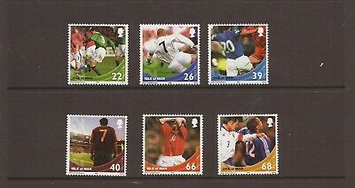 Iom 2002 Football Mnh Set Of Stamps