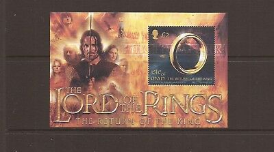 Iom 2003 Lord Of The Rings M/sheet Mnh  Stamps Sg Ms1124