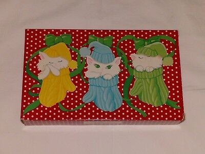 Vintage Avon Furry, Purry, and Scurry Kitten Mittens Children's Soaps