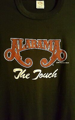 Vintage 1987 Alabama The Touch Tour T Shirt Adult XL Country Music
