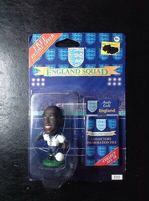 Andy Cole England E02 Unopened pack
