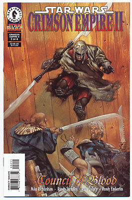 Star Wars Crimson Empire II: Council of Blood # 2 - Dec 1998 | 9.4 NM