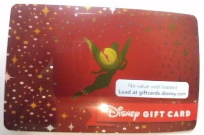 Tinkerbell, Disney Gift Card, Rare Collectible                               (B)
