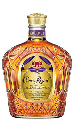 Crown Royal Blended Canadian Whisky 1 Litre(Boxed)