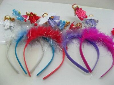 48 Fancy Angle Fluffy Head Boppers Head Bands toy-p753