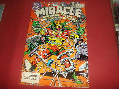 MISTER MIRACLE #1  DC Comics (1989 Series)  NM